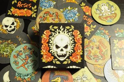 髑髏と薔薇(Skull&Roses)